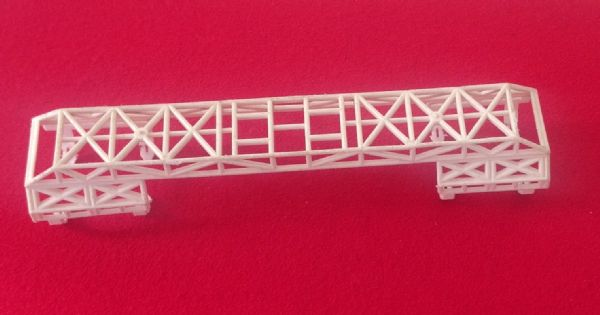 Dinky Toys 359 - Original - Space 1999 Eagle Transporter White plastic clip on Cage
